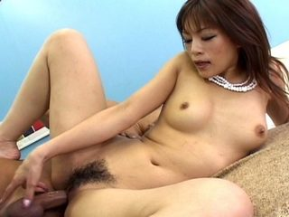 Hot cock sucking Japanese slut in wild action!
