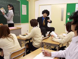 Eri Hoshikawa tricked into fucking