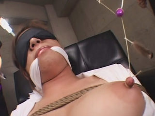 Sexy Japanese Babe Bound And Pleasured Good