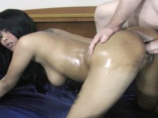Busty girl Jenny fucks big dick