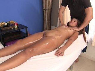 Sexy nymph loves versed  rubdown