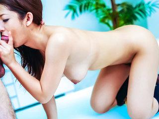 Satomi Suzuki in her college uniform is detained for..